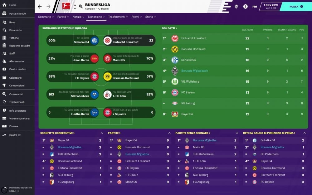 Tester ufficiale di Football Manager