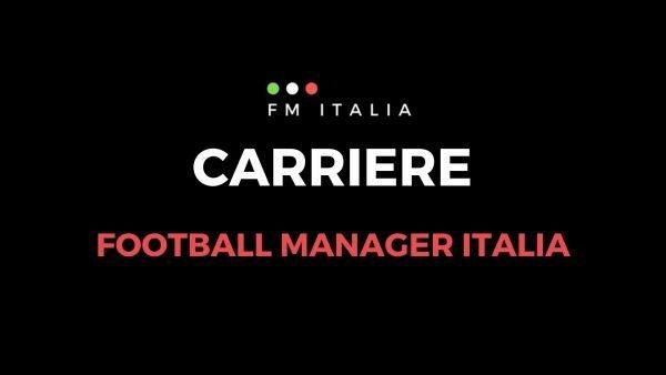 Sezione Carriere di Football Manager Italia