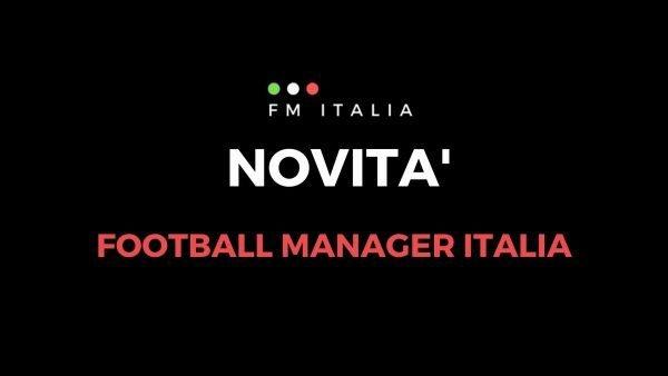 Sezione Novità di Football Manager Italia