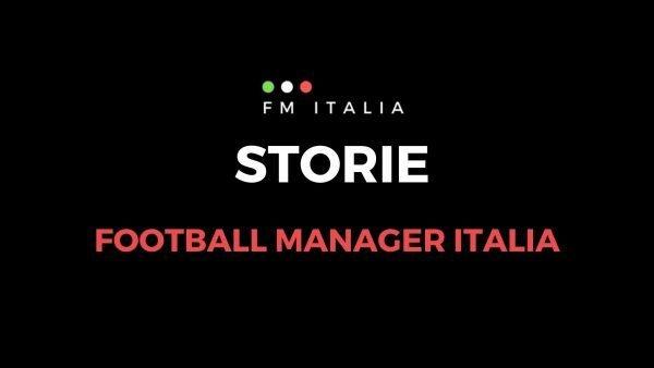 Sezione Storie di Football Manager Italia