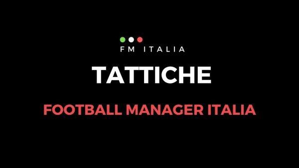 Sezione Tattiche di Football Manager Italia