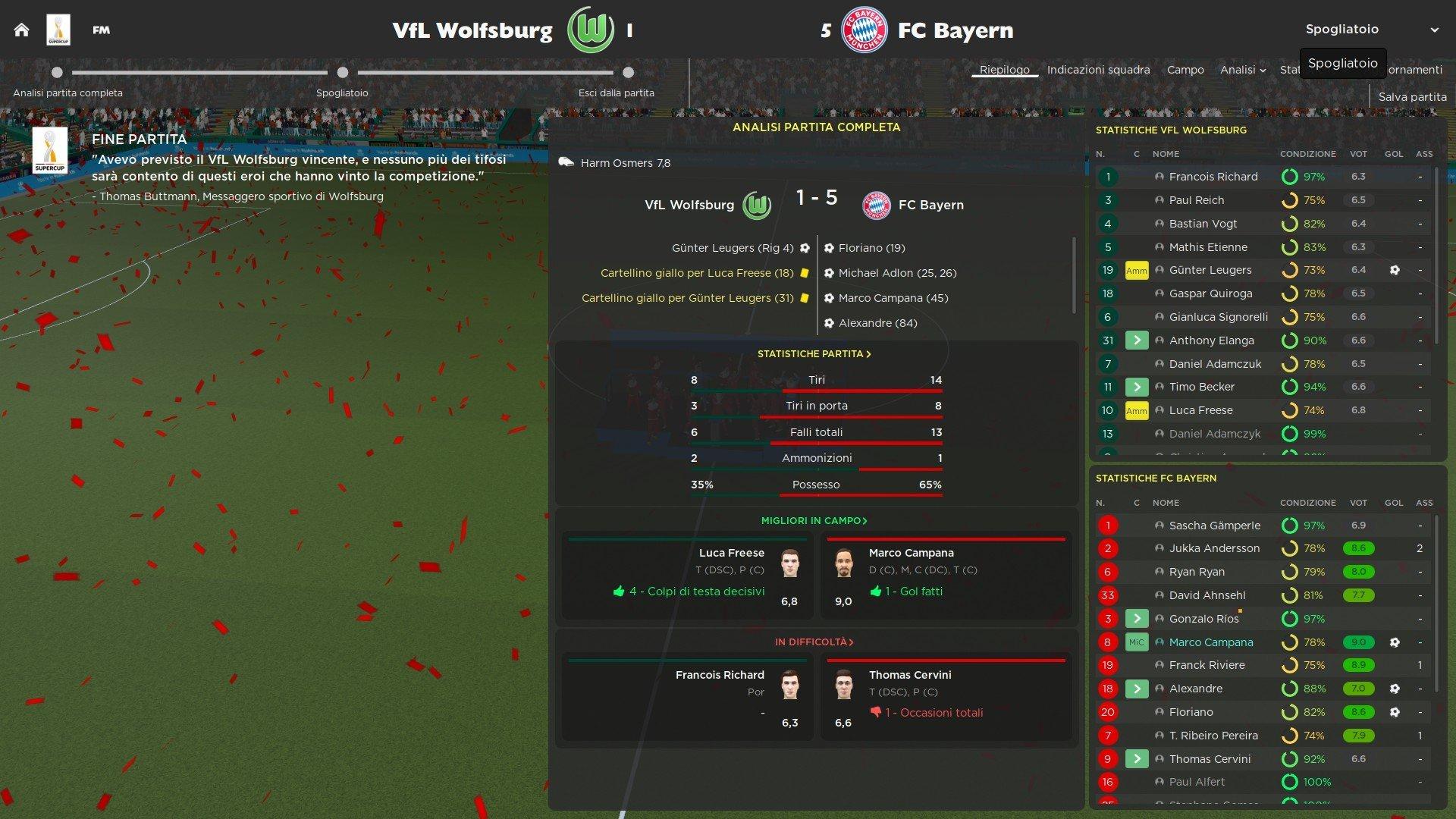 12 Supercoppa di Germania