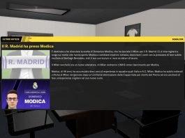 Presentazione - Domenico Modica al Real Madrid