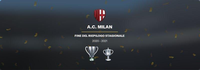 Milan campione stagione 2020/21