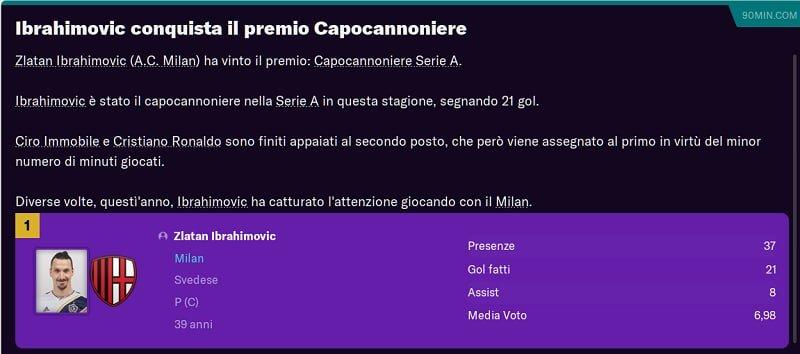 Premio Capocannoniere Serie A