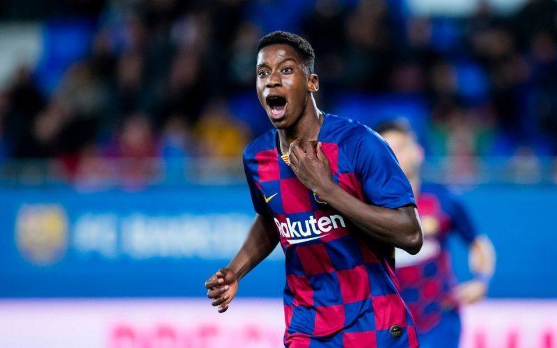 Ilaix Moriba - talento Barcellona