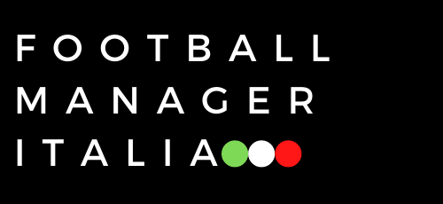 Football Manager Italia Logo Footer